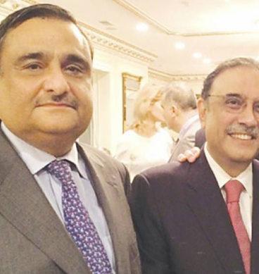 Asif Zardari Visits Dr Asim
