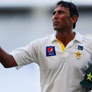Younis Becomes First Cricketer To Score Test Centuries In 11 Countries
