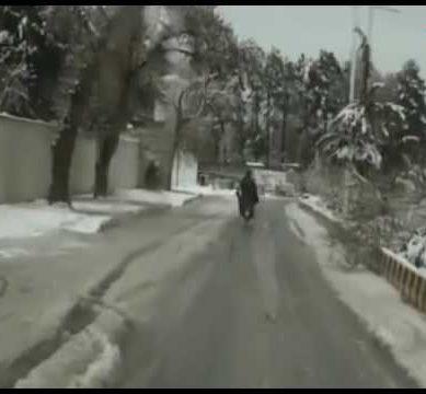 Beautiful Scenes of Quetta's Snowfall