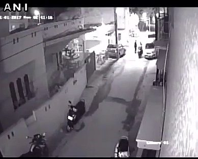 CCTV Footage Of Girl Abuse On New Year Night