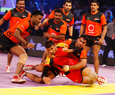 Kabaddi Players Start Fighting In Real With Each Other