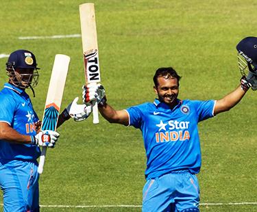 Kedar Jadhav Scores Century Against England