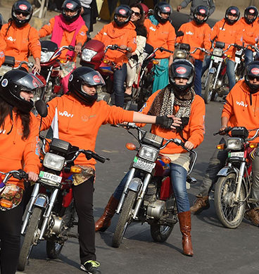 Women On Wheels Hit The Roads In Lahore