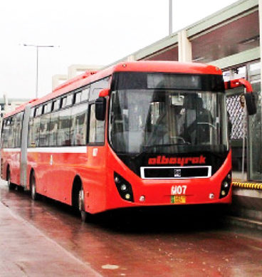 Metro Buses All Set To Hit The Roads Of Multan