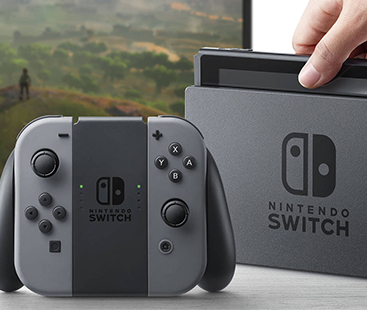 New Nintendo Switch Console