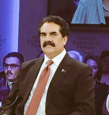 Raheel Sharif At World Economic Forum (WEF)