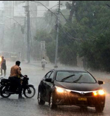 Rainfall To Continue In Karachi Till Sunday Night