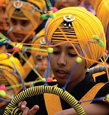 Sikh Community Celebrate Birthday Of Their Spiritual Master
