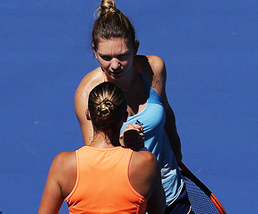 Australia Open First: Shelby Rogers Beat Simona Halep