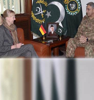 COAS General Qamar Javed Bajwa Meets German Ambassador