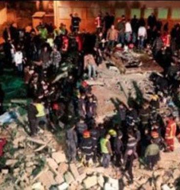 Multan Building Collapse: CCTV Footage