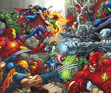 Marvel Vs DC In 2017