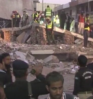 Under-Construction Building Collapses In Multan