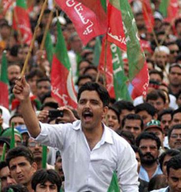 PTI Holds 'Anti-Corruption' Rally In Bahawalpur