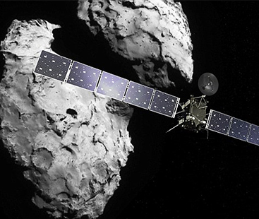Rosetta's Spacecraft Death Spiral