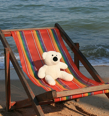 Teddy Bears On Vacation