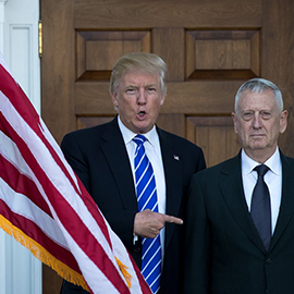 Marines Say 'Mad Dog' Mattis May Temper Trump