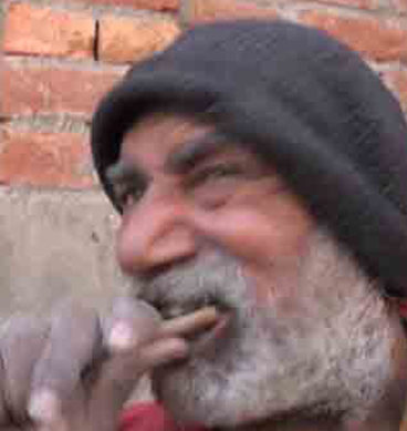 50-Year-Old Mehmood Butt Eats Wood