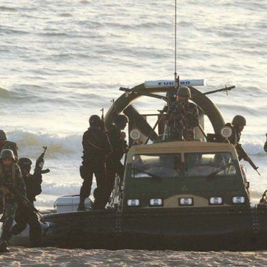 Navy Exercises In The Different Countries Of The World In Peace