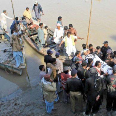 Boat Carrying Devotees Capsizes Near Larkana