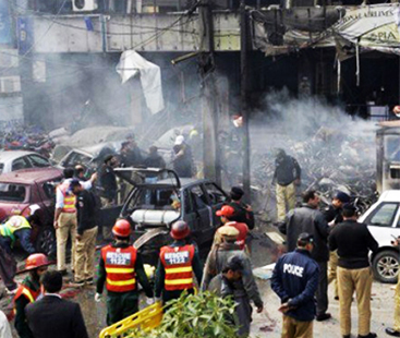 'Suicide Blast' Near Imambargah In Parachinar