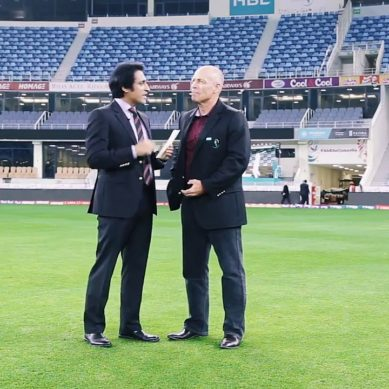 Ramiz Raja Interviewed Danny Morrison In Urdu