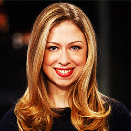 Chelsea Clinton Finds Her Voice