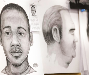 "Former NYPD Forensic Artist Shows How To Draw A ""Bad Guy Sketch"""