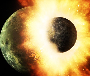 How Moon Was Formed ?