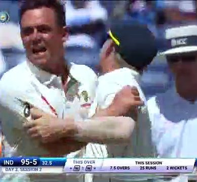 1st Test: O'Keefe Put Australia In Dominant Position