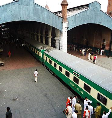 Lahore Railway Station Under Threat