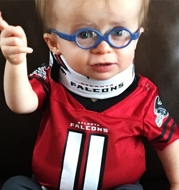 Meet Falcons Cutest Football Fan