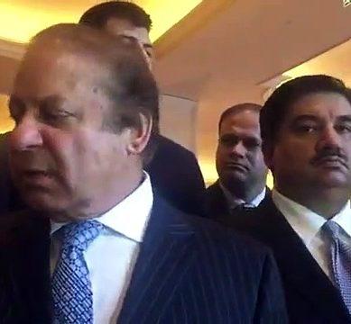 Nawaz Sharif Hesitates To Talk About Panama Case