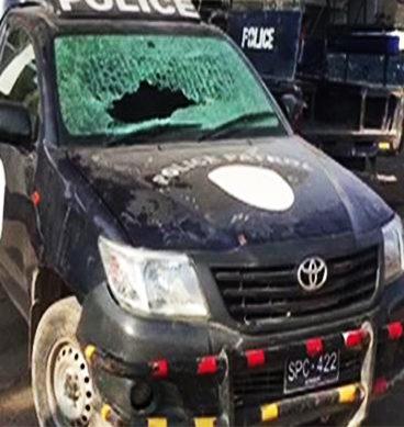 Residents Protest Against Robberies In Karachi's Orangi Town