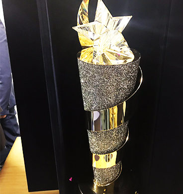 PSL 2017 Trophy Unveiled In Dubai