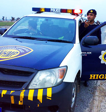 Peshawar Motorway Police Arrest Suspects After Car Chase
