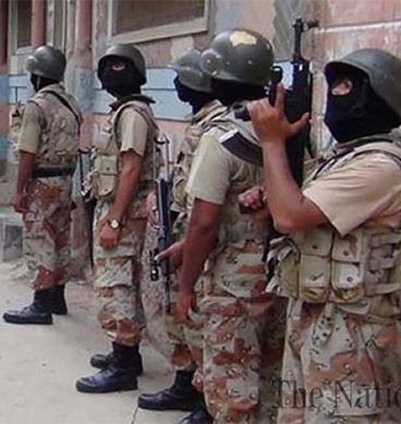 Security Forces Conduct Search Operation In Karachi Against Terrorists