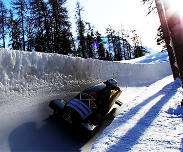 Riding The World's Oldest Bobsled Track
