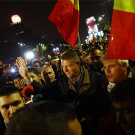 Romania's Protestsers Call For Government To Resign