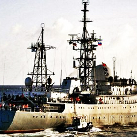 Russian Spy Ship Spotted On US Coast