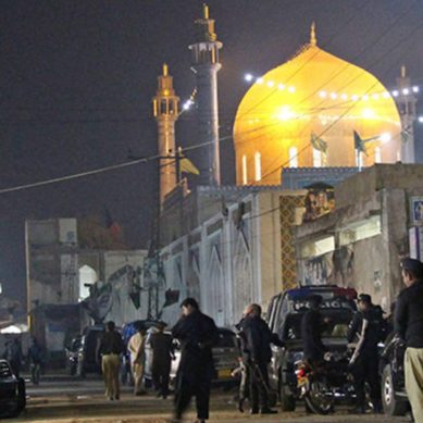 Sehwan Attacker Bypassed Security Check In CCTV Footage: Police