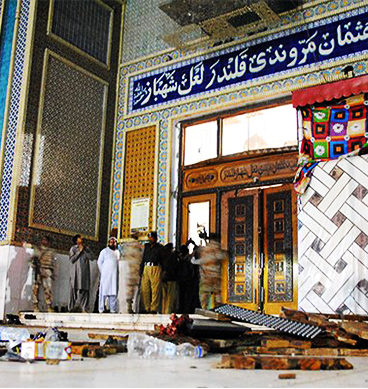 Coward Attack On Sehwan Sharif Shrine
