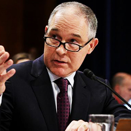 Senate Confirms Pruitt As Head Of EPA