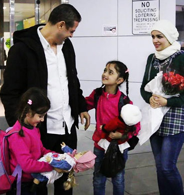 Syrian Family Reunited After Travel Ban Chaos