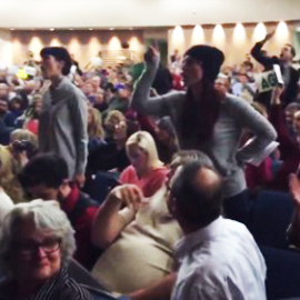 Tempers Flare At Republican Town Halls