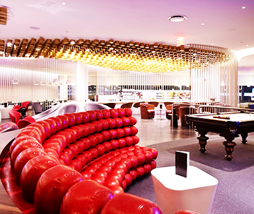 Luxurious Airport Lounge In New York
