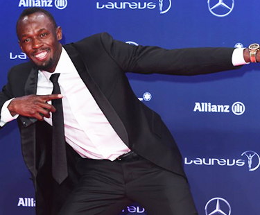 Usain Bolt Tests His Speed Before 2017 World Championship