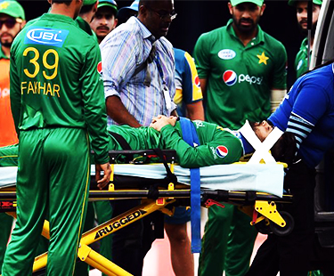 Ahmed Shehzad Injured During Pakistan Vs West Indies 2nd T20