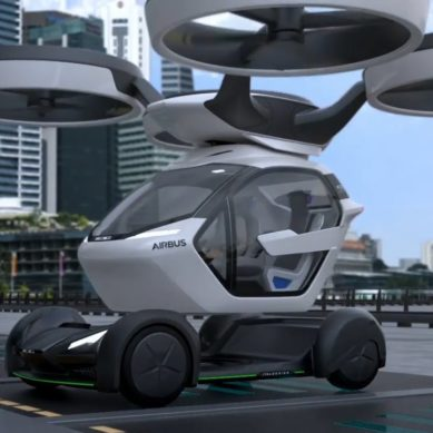 Concept: Car That Can Be Airlifted By A drone