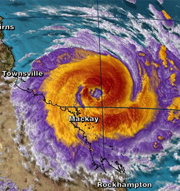 Cyclone Debbie Prompts Evacuations